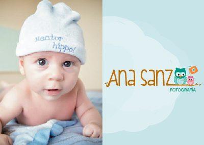 Logotipo Ana Sanz
