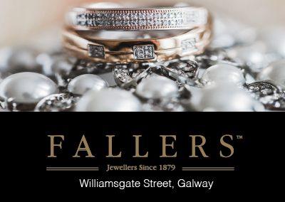 Diseño gráfico publicidad Fallers Jewellers