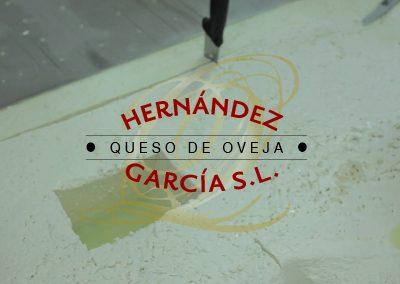 Web y diseño Quesos Hernández García