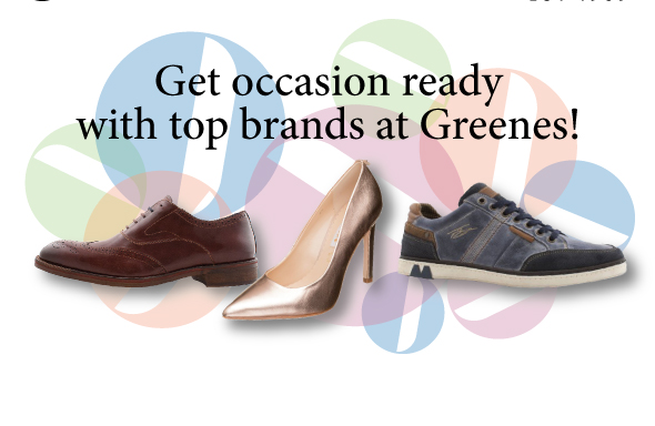 Top Brands at Greenes
