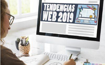 LAS TENDENCIAS MÁS DESTACADAS EN DISEÑO WEB 2019