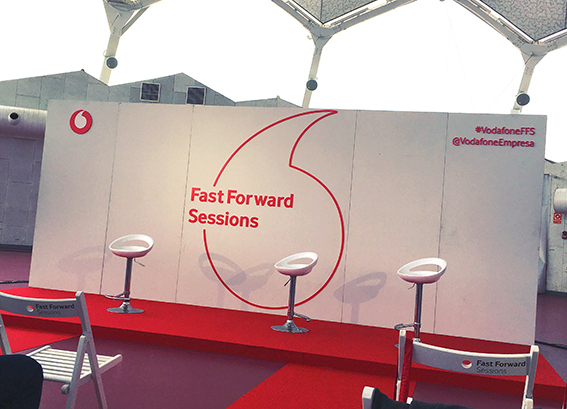 FAST FORWARD SESSIONS DE VODAFONE EN VALLADOLID