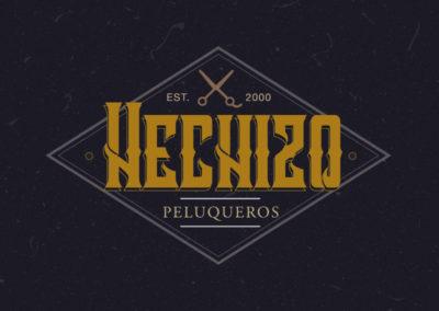 Logotipo Hechizo Peluqueros