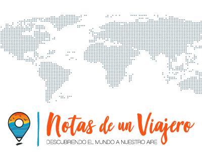 """Logotipo """"Notas de un Viajero"""""""