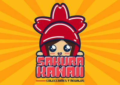 Logotipo Sakura Kawaii