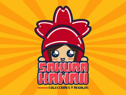 """Logotipo """"Sakura Kawaii"""""""
