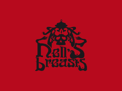 Logotipo y Music Artwork Hell's Breasts