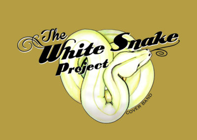 Music Artwork y Logo White Snake Project