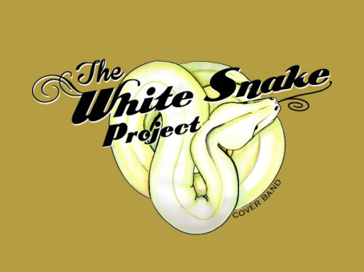 Music Artwork y Logo White Snake Project