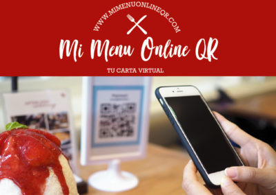Web Mi menú online QR