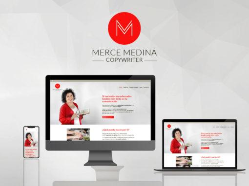Marca personal y web Merce Medina