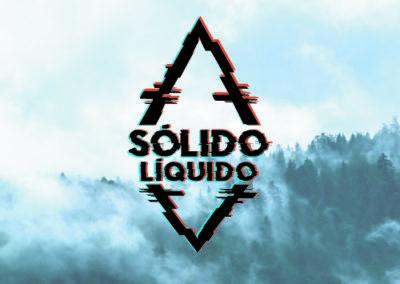Logotipo Sólido Líquido